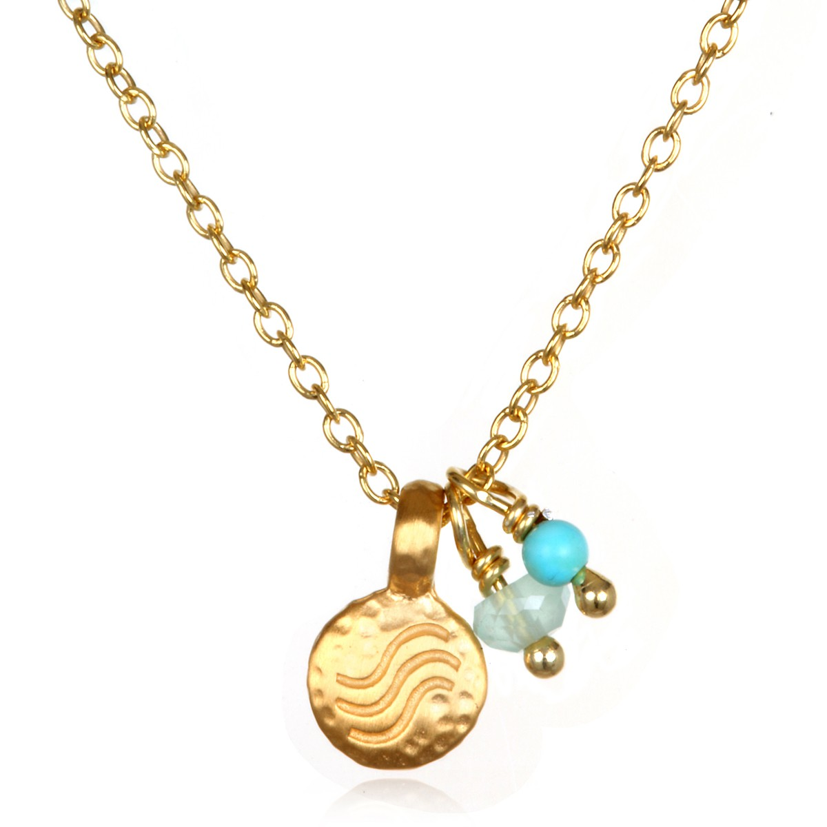 Satya Rainwater Necklace In Gold