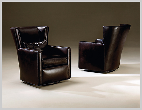 Thayer Coggin Right Wing Chairs