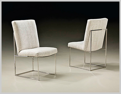 Thayer Coggin Design Classic Armless Dining Room Chair