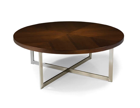 Thayer Coggin Export Round Cocktail Table