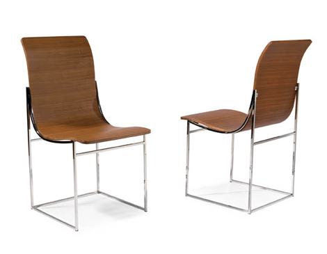 Thayer Coggin Moe Dining Chairs