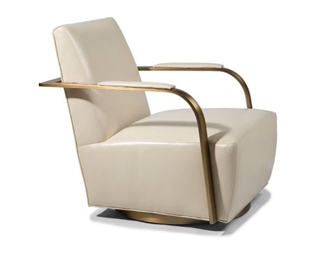 Thayer Coggin Zac Swivel Chair
