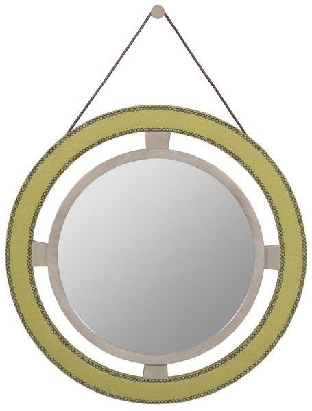 Vanguard Robineau Road (Upholstered Round Mirror)