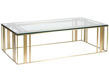 Vanguard Wallace Rectangle Cocktail Table
